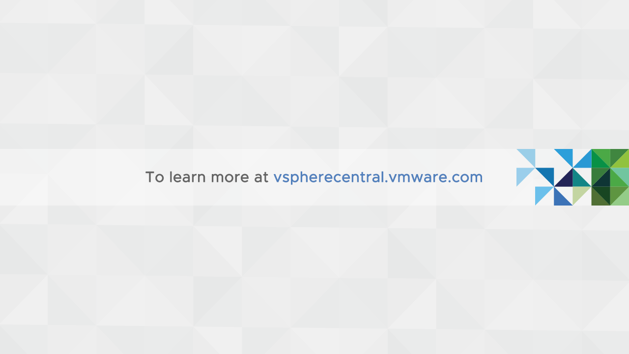 Confirm vCenter Server Appliance restore is successful.