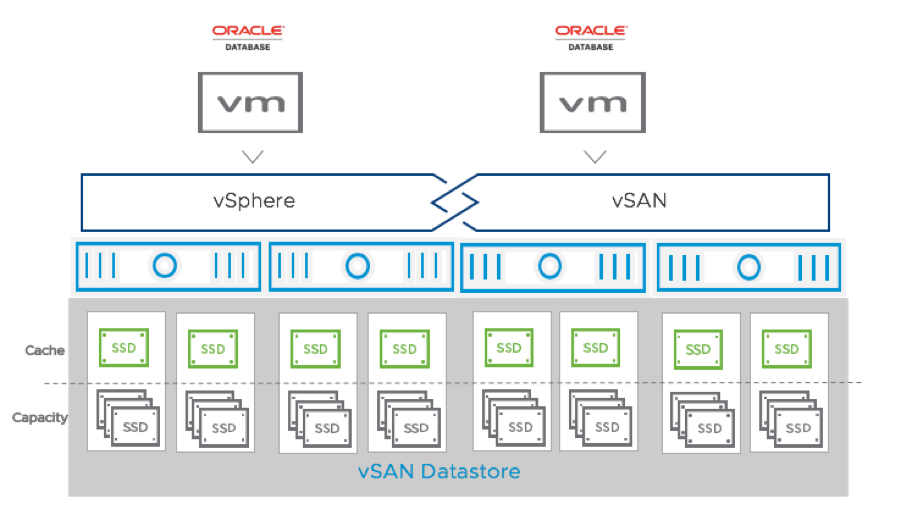 vSAN Cluster for Oracle Database