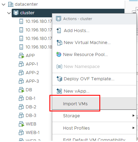 Advanced Cross vCenter Server vMotion (XVM)  VMware vSphere 7 Update 1c